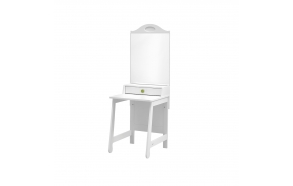 Parole - dressing table, white+green