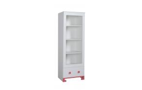 ToTo – bookcase,white+pink