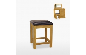 Bedroom stool (leather)