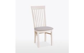 värvitud tool Swell, nahaga kaetud