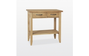 Console table 2 drawers with shelf
