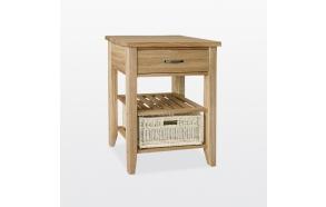 Single basket console table