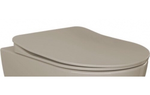 mat cappucino soft close seat, for models FE320, FE321