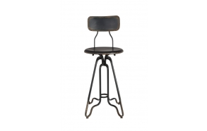 Counter Stool Ovid Black