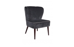 Lounge Chair Smoker Dark Grey