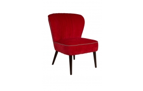 Lounge Chair Smoker Red