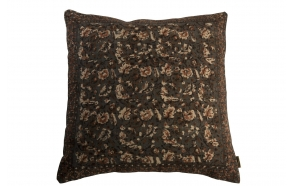 Pillow Indian Block '50 Grey