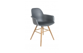 Armchair Albert Kuip Dark Grey