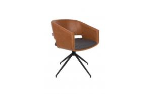 käetugedega tool Beau, pruun