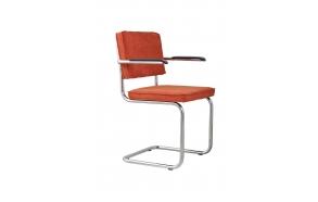 käetugedega tool Ridge Rib, oranž 19A