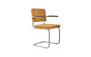 käetugedega tool Ridge Rib, kollane 24A
