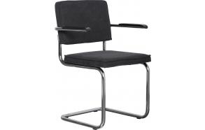 käetugedega tool Ridge Vintage, tumehall
