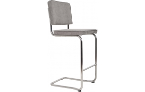 Barstool Ridge Kink Rib Cool Grey 32A
