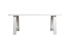 Table A-Framed 180X85 White
