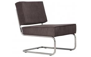 Lounge Chair Ridge Rib Grey