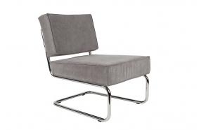 Lounge Chair Ridge Rib Cool Grey