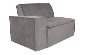 Element Sofa James Arm Left Rib Grey