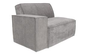 Element Sofa James Arm Left Rib Cool Grey