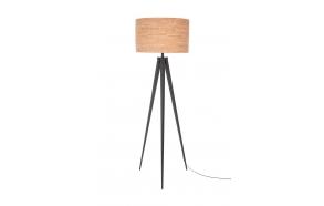 Floor Lamp Tripod Cork Black