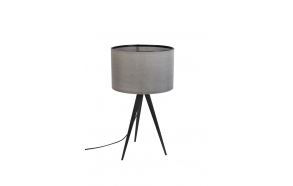 Table Lamp Tripod Black/Grey