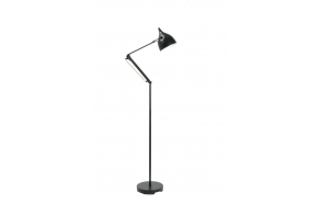 Floor Lamp Reader Matt Black