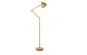Floor Lamp Reader Matt Yellow