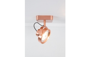 Spot Light Dice-1 Led Copper