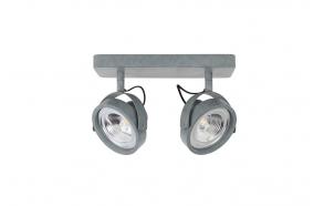 kohtvalgusti Dice-2 LED, tsingitud