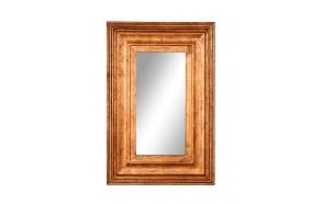 90 cm puidust raamiga peegel, käsitsi valmistatud Indias
