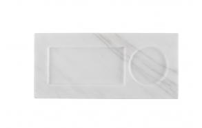 Tray Marble White