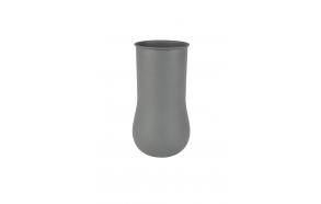 Vase Blob Large Grey