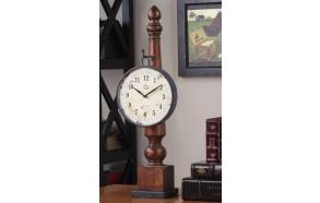 """25""""H Metal Clock w/ Base"""