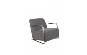 Armchair Adwin Dark Grey