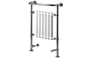 CORK Towel Radiator 675x960 mm, chrome/white