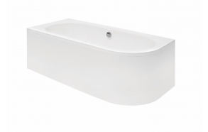 acrylic bath Avito, 150x75 cm, right +feet+panel