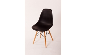 chair Alexis, black, beech feet