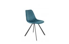 Chair Franky Velvet Petrol