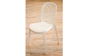 chair Dottie, white