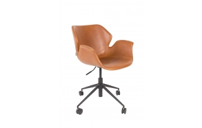 Office Chair Nikki All Brown