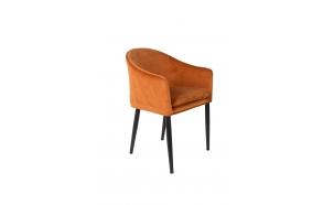 käetugedega tool Catelyn, oranž