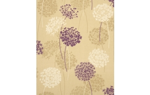 Meadow Sidewall, Gold/Plum