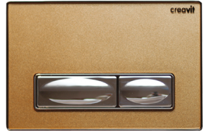 DESIGN FLUSH PLATE BRONZE METAL+GLASS