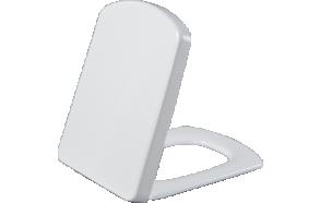 TEFEN(MOON) aeglaselt sulguv (soft close) WC iste, valge