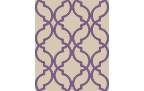 Decadence Moroccan Trellis Purple