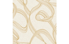 Decadence Ribbon SwirlGold/Cream