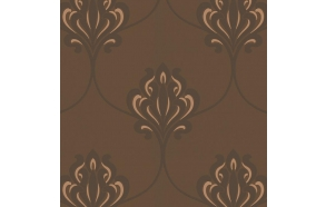 Decadence Nouveau Damask Bronze/Chocolate