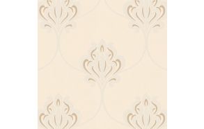 Decadence Nouveau Damask White
