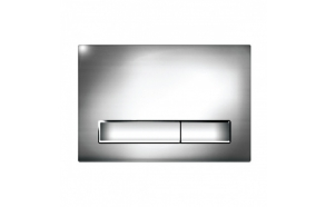 dual flush plate M08 chrome