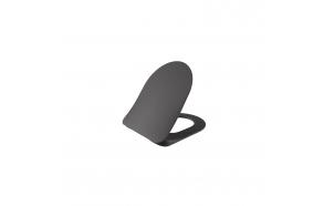 aeglaselt sulguv (soft close) WC iste, matt antratsiit, mudelid FE320, FE321