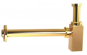 33 cm bottle trap, gold, 1 1/4´´